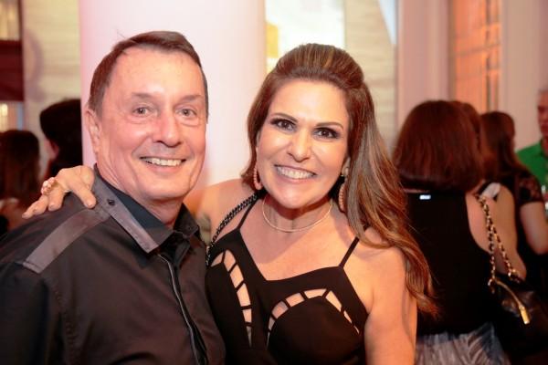 Carlos Augusto Lira e Beth Curra - Crédito: Gleyson Ramos/Divulgação