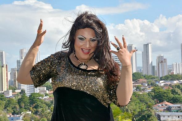 Jurema Fox participou de desafio de emagrecimento no programa Agora é hora, da TV Clube/Record - Crédito: Luiz Amorim/E4 Filmes