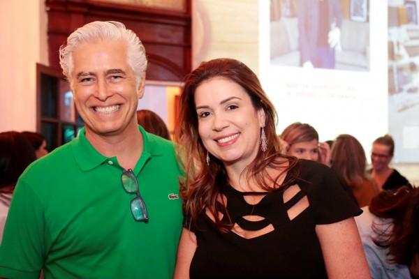Romero e Patricia Duarte - Crédito: Gleyson Ramos/Divulgação