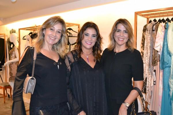 Silvana Aguiar, Solange Markan e Dulce Pontes - Crédito: Caleidoscópio Comunicação/Divulgação