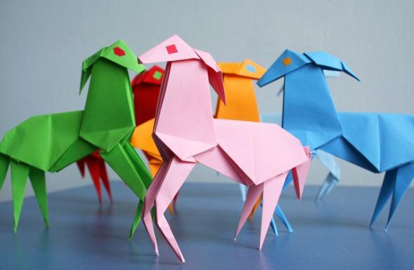Origamis. Imagem ilustrativa. Crédito: Reprodução/freeimages.com