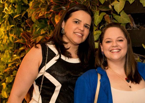 Ana Lúcia Miranda e Carol Figueirêdo. Crédito: Divulgação/Iupi