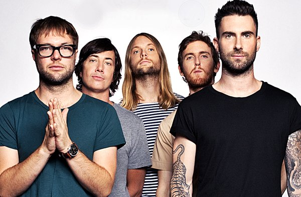 Maroon 5 - Crédito: Reprodução/Twitter
