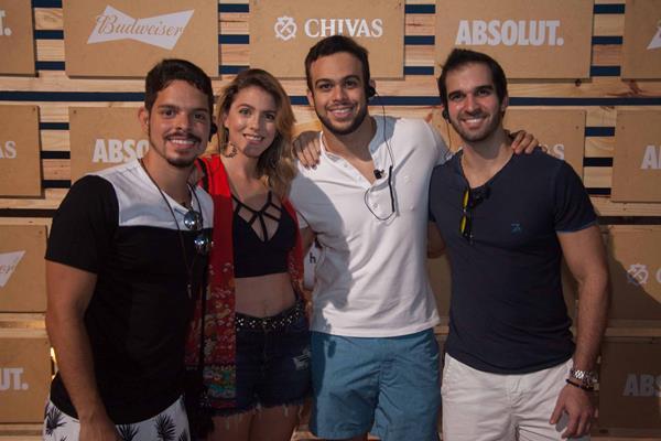 Rosalvo Tavares, Cecilia Lucchesi, Thiago Wellk, Tuca Queiroz - Crédito: Vito Sormany/Divulgação