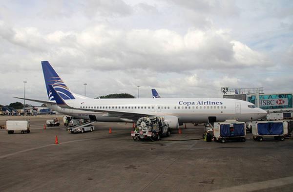 Avião da Copa Airlines