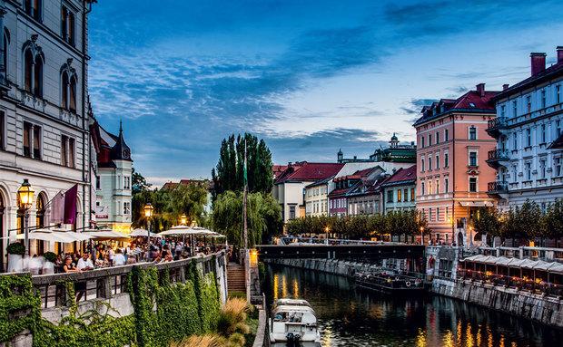 Liubliana, capital da Eslovênia. Crédito: Constantito Leite/Reprodução