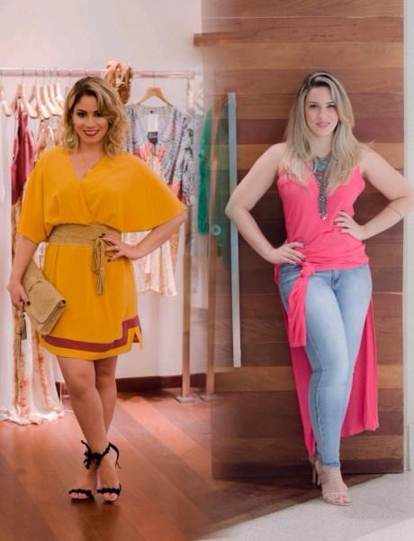 Ana Karla Assis e Anne Barros do Viva Seu Estilo - Crédito: Divulgação