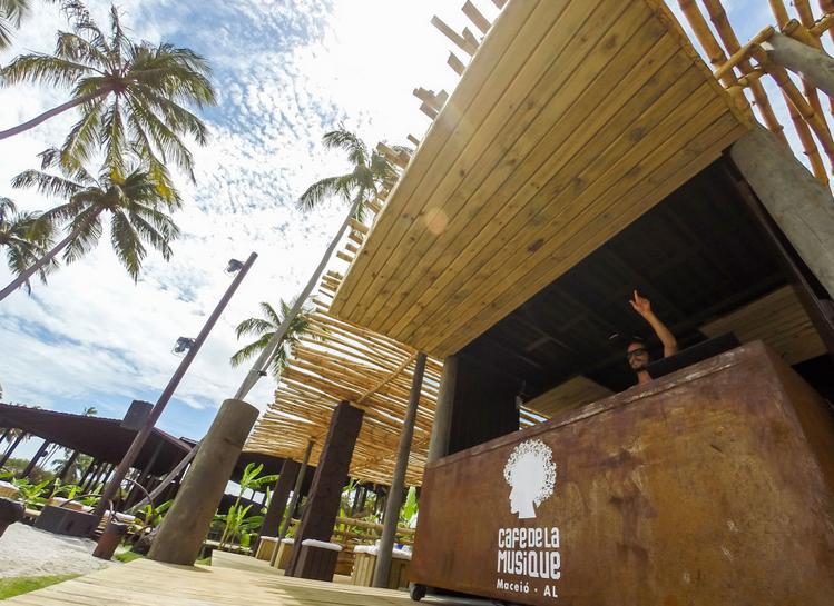 Cafe de la musique em Maceió - Crédito: Divulgação/cafedelamusiquemaceio.com.br/acasa/