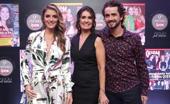 Rafa Brites, Fátima Bernardes e Felipe Andreoli. Crédito: Zô Guimarães/ QUEM