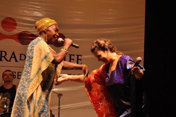 Lia de Itamaracá e Adriana B - Crédito: Divulgação
