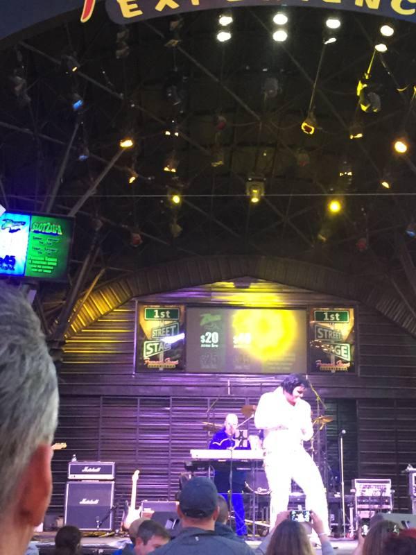 Show de cover de Elvis em Freemont