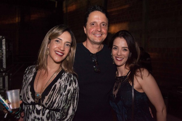 Adriana Coutinho, Marconi Pereira e Raquel Pereira. Crédito: Moove / Divulgação