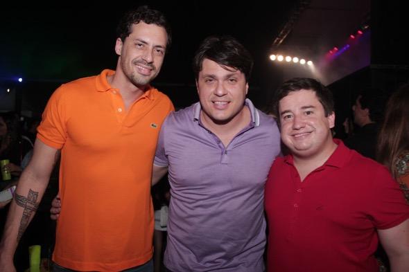 Produtores da festa. Crédito: Lara Valença / Divulgação