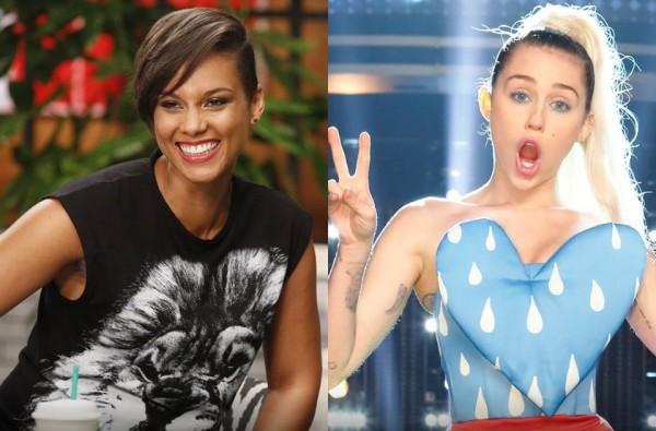 Alicia Keys e Miley Cyrus são as novas juradas do The Voice americano - Crédito: Reprodução/Facebook