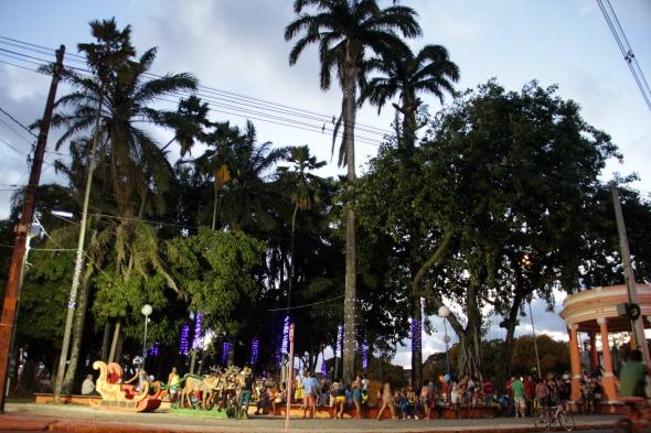Praça Sérgio Loreto. Crédito: Divulgação/Galo da Madrugada