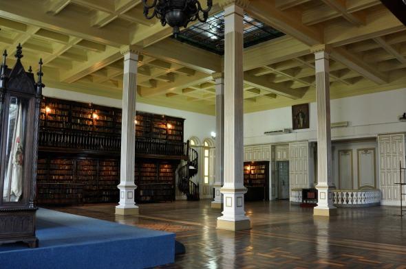 Salão nobre do Gabinete Português de Leitura. Crédito: Blenda Souto Maior/Esp. DP/D.A Press