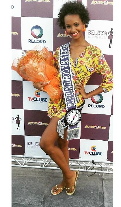Alessandra Eduarda venceu o concurso