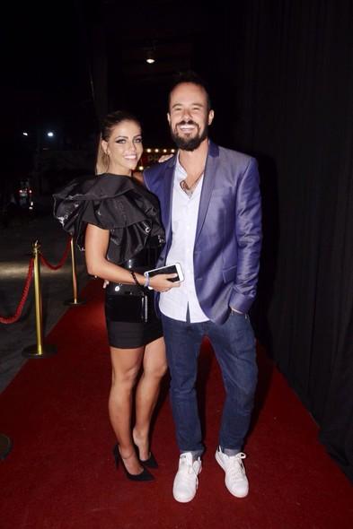 Vanessa Ribeiro e Paulinho Vilhena