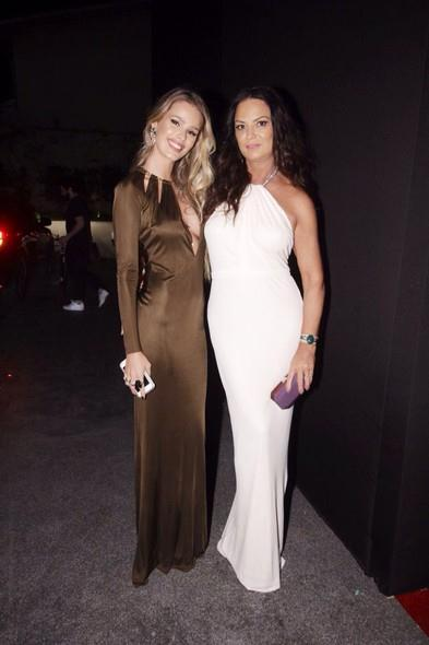 Yasmin e Luíza Brunet. Crédito: Reprodução site Glamour