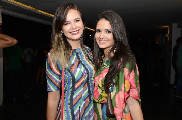 Ádila Araújo e Isabela Oliveira. Crédito: Lara Valença/Divulgação