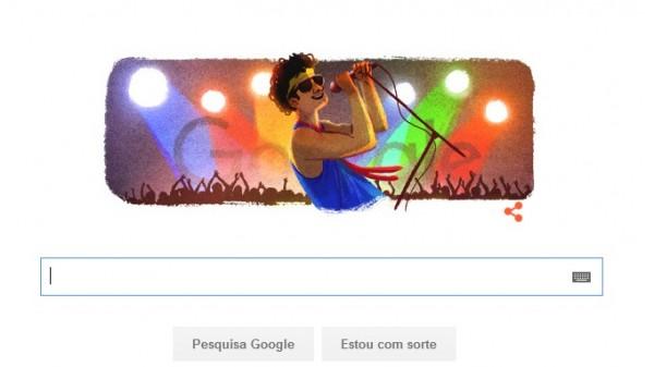 Doodle de hoje no Google - Crédito: Reprodução/Google