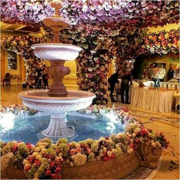 decoração casamento mais caro do mundo