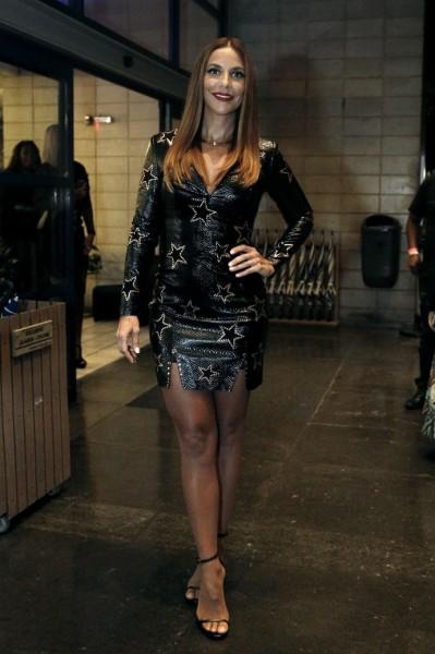 Ivete apostou num look bordado - Crédito: Camila Camacho/Gshow/Reprodução