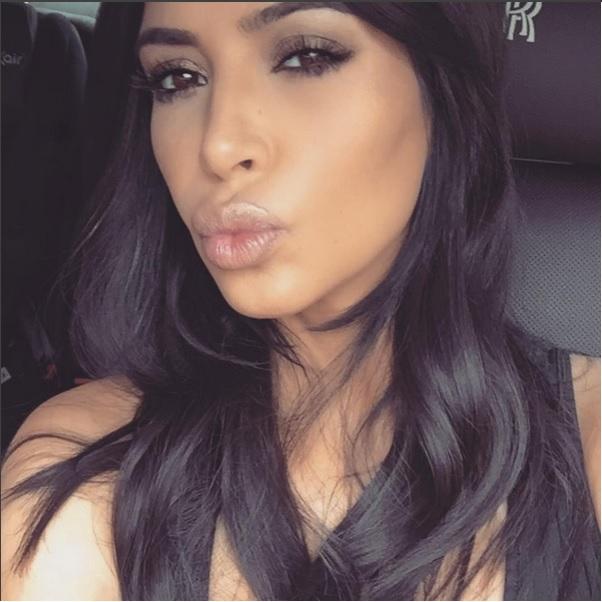 Kim Kardashian é a rainha das selfies - Crédito: Reprodução/Instagram