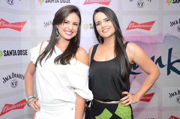 Amanda Leite e Charlenne Lins. Crédito: Lara Valença / Divulgação