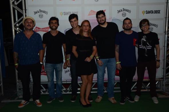 Produtores do evento. Crédito: Lara Valença / Divulgação