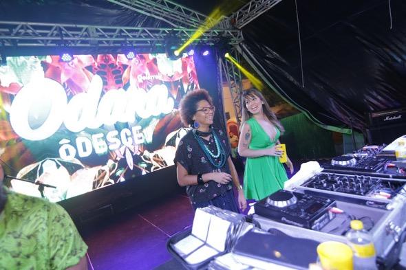Lala K e Allana Marques. Crédito: Celo Silva / Divulgação