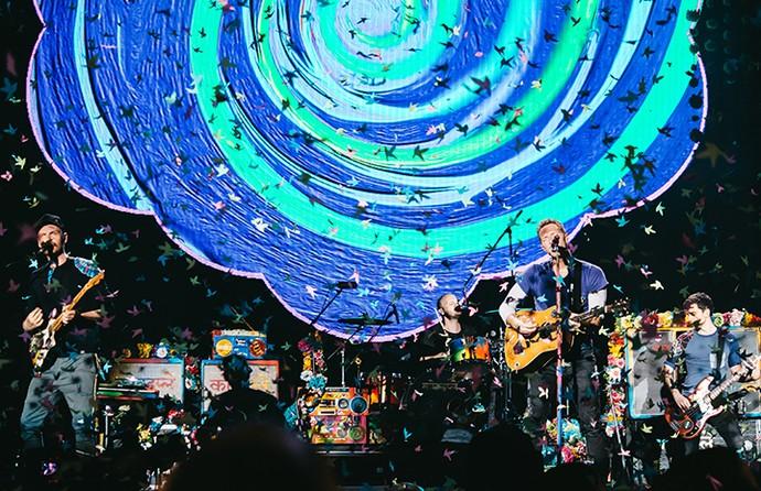 Coldplay - Crédito:  Breno Galtier/T4F