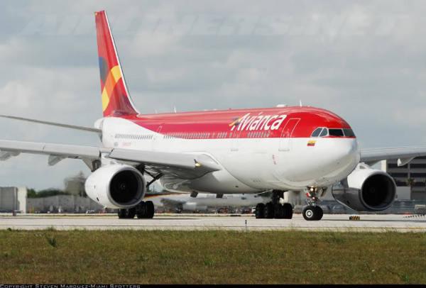 Avião da Avianca/Divulgação