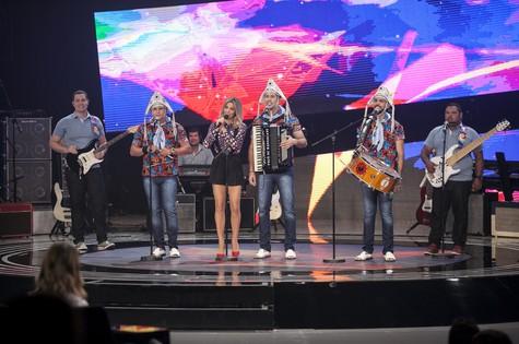 A banda Fulô de Mandacaru - Crédito: Globo/Pedro Curi