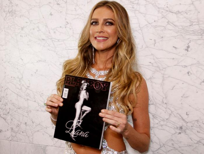 Luana Piovani lançou a edição na noite dessa terça-feira - Crédito: Playboy/Divulgação