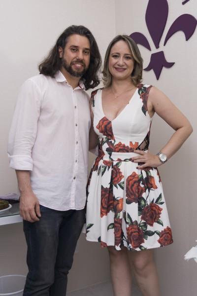 Empresário da Provanza, Giorgio Villar e Isabelle Santana - Crédito: Lucas Moraes/Divulgação