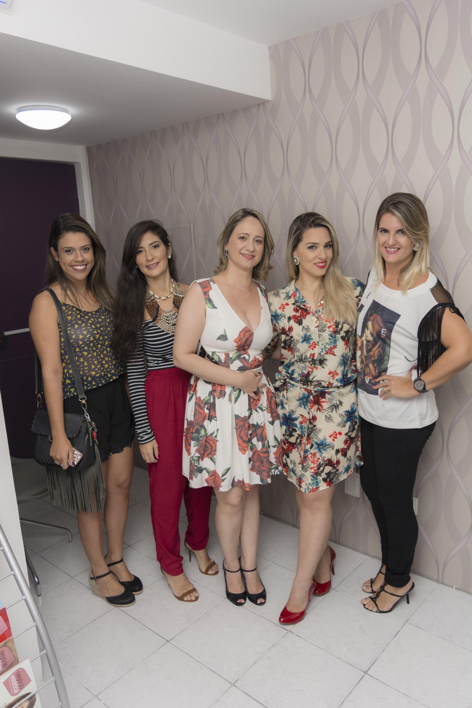 Kil Lima, Wanessa Capritano, Anne Barros, Isabelle Santana, Malu - Crédito: Lucas Moraes/Divulgação