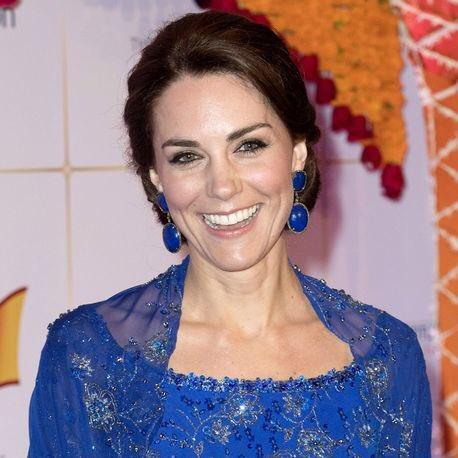 A Duquesa durante festa de gala - Crédito: Reprodução/Twitter