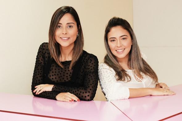 Vanessa Tinoco e Paula Moura. Crédito: Jonatha Oliveira /
