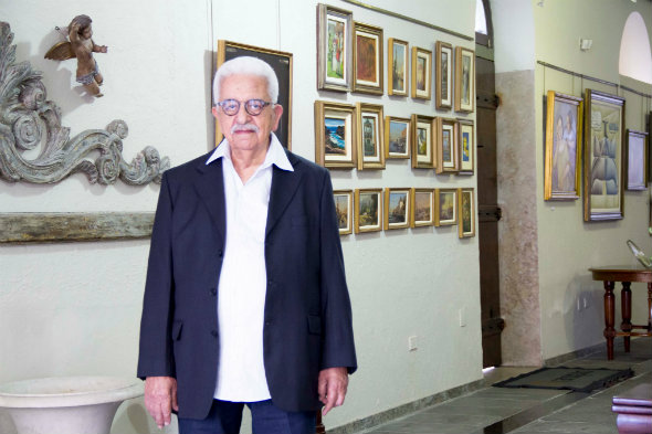 Carlos Ranulpho celebra 87 anos com festa e exposição.