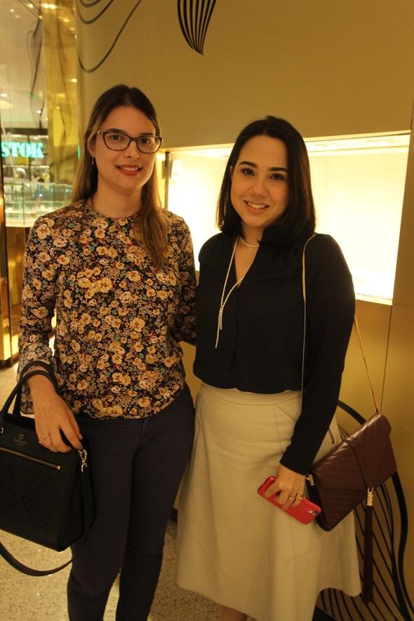 Isabel Andrade e Áurea Costa. Crédito: Nando Chiappetta / DP