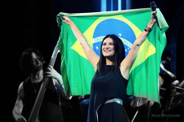 Crédito: Bruna Marchionatti/Laura Pausini Brasil