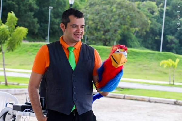 Mágico Rodrigo Lima - Crédito: Divulgação