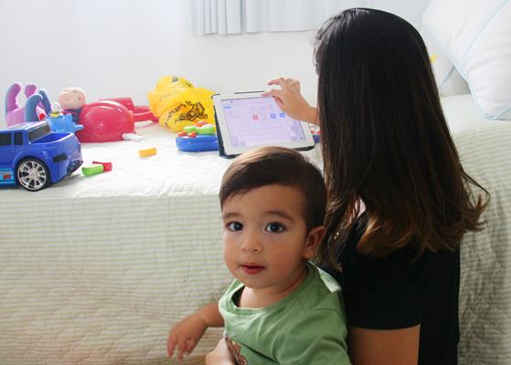 Lara Cavalcanti e Caio - Crédito: Karina Morais/Esp.DP