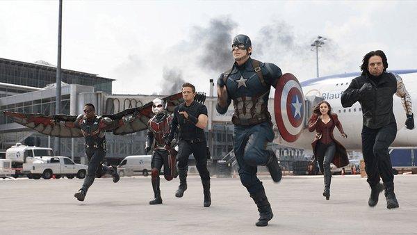 Capitão América: Guerra Civil - Crédito: Reprodução/Twitter