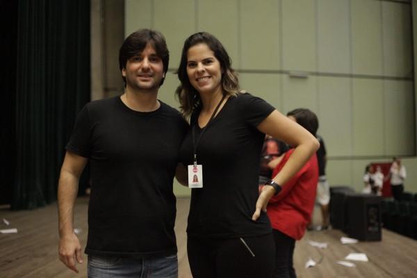 Pedro Toscano e Mariana Barreto - Crédito: Gustavo Glória/Divulgação