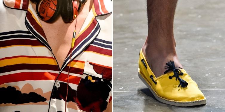 Nos pés, alpargatas Havaianas em tons coloridos como amarelo, azul e laranja - Crédito: Agência Fotosite