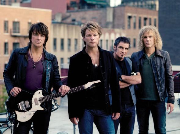 A banda Bon Jovi é uma das homenageadas no tributo. Crédito: Divulgação