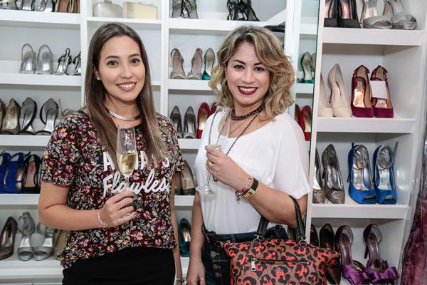 Aline Lima e Ana Karlla Assis - Crédito: Gleyson Ramos/Divulgação