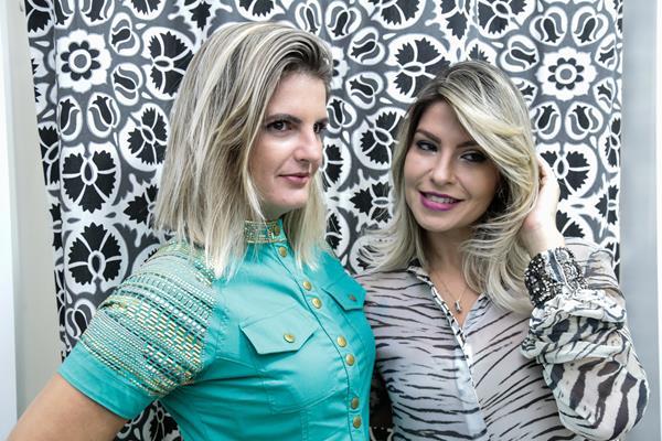 Maria Lúcia e Alessandra Sidon - Crédito: Gleyson Ramos/Divulgação